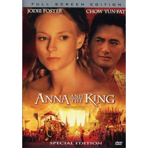 Image 0 of Anna And The King On DVD With Jodie Foster Drama