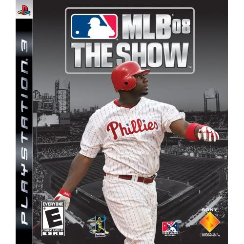 MLB 08 The Show For PlayStation 3 PS3 Baseball