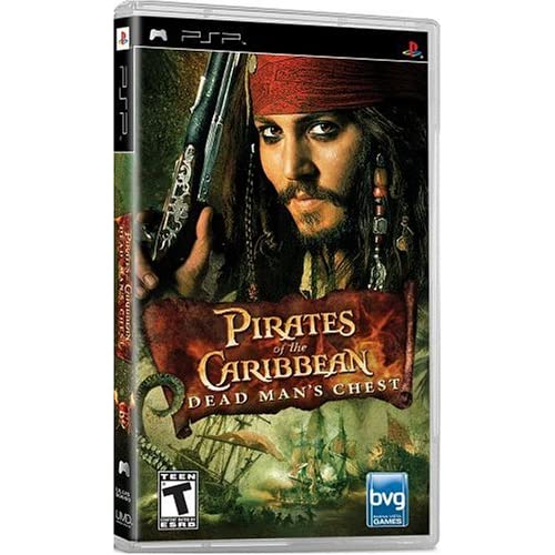 Image 0 of Pirates Of The Caribbean Dead Man's Chest Sony For PSP UMD Disney