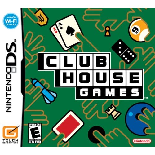 Image 0 of Clubhouse Games For Nintendo DS DSi 3DS 2DS Puzzle