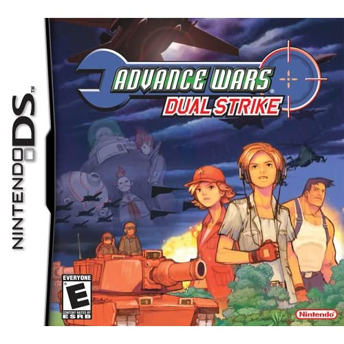 Advance Wars: Dual Strike For Nintendo DS DSi 3DS 2DS Strategy
