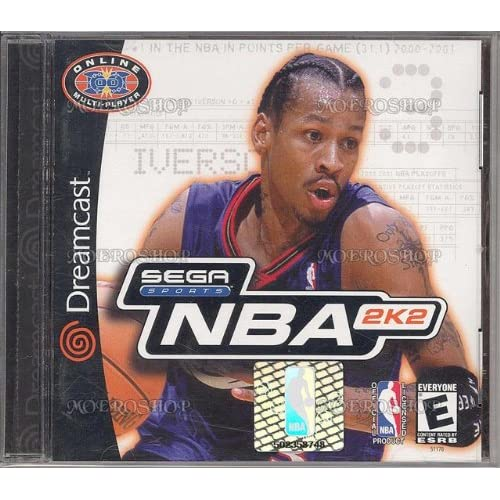 NBA 2K2 For Sega Dreamcast Basketball With Manual and Case