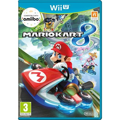 Mario Kart 8 Nintendo Wii U With Manual And Case