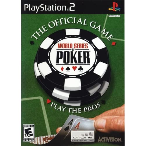 World Series Of Poker For PlayStation 2 PS2 With Manual and Case