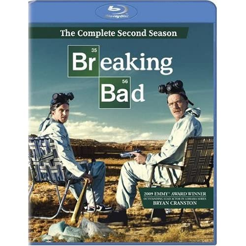 Breaking Bad: Season 2 Blu-Ray On Blu-Ray With Bryan Cranston