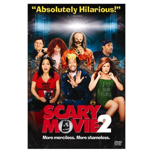 Scary Movie 2 On DVD With Anna Faris