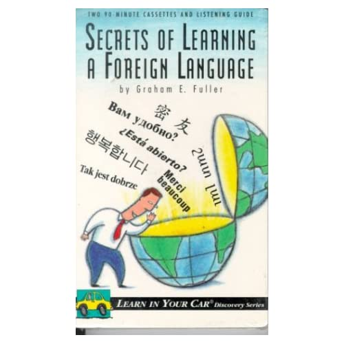 Image 0 of Secrets Of Learning A Foreign Language Learn In Your Car Discovery Series By Gra