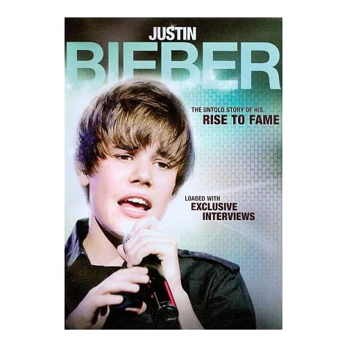 Image 0 of Justin Bieber-Rise To Fame Justin Bieber-Rise To Fame On DVD