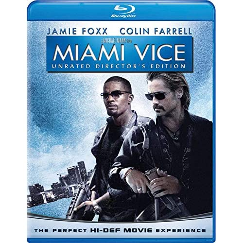 Image 0 of Miami Vice Unrated Director's Edition Blu-Ray On Blu-Ray With Colin Farrell