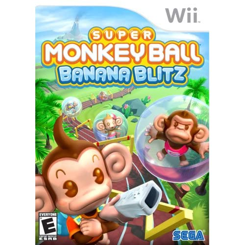 Image 0 of Super Monkey Ball: Banana Blitz For Wii And Wii U