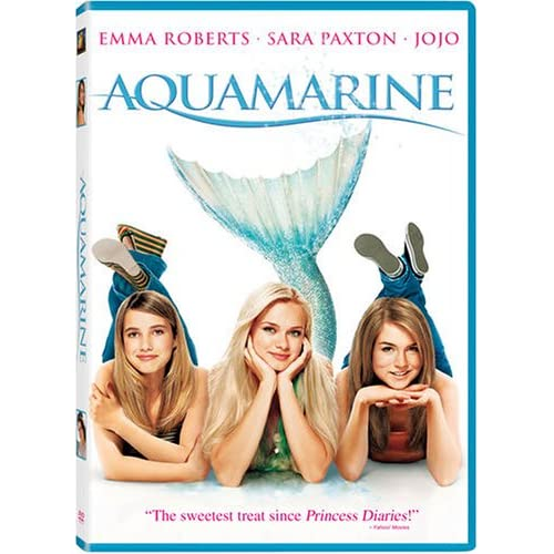 Image 0 of Aquamarine On DVD With Emma Roberts Romance