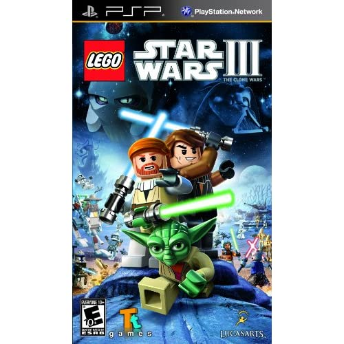 Image 0 of Lego Star Wars III The Clone Wars Sony For PSP UMD