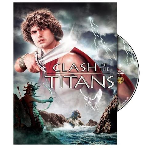Image 0 of Clash Of The Titans Keep Case Packaging On DVD With Laurence Olivier