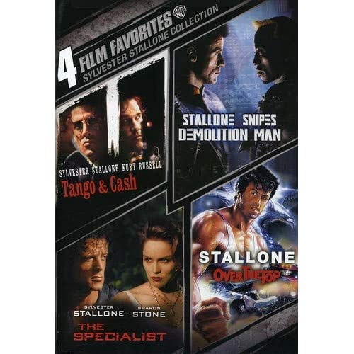 Image 0 of 4 Film Favorites: Sylvester Stallone Demolition Man Over The Top The Specialist