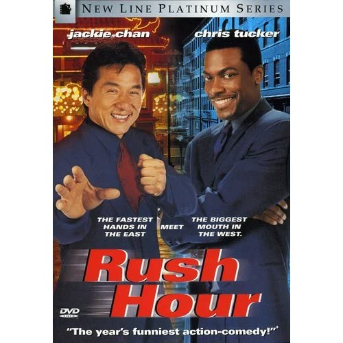 Rush Hour New Line Platinum Series On DVD With Jackie Chan Comedy