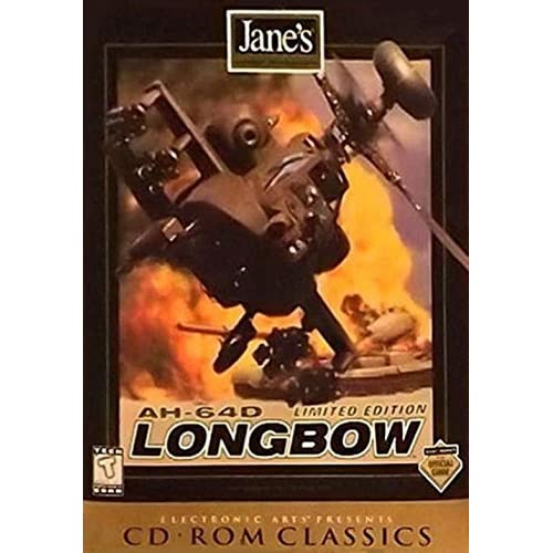 AH-64D Limited Edition Longbow CD Rom Classics Software