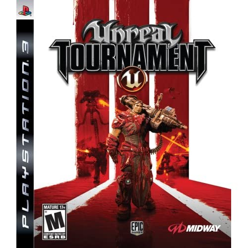 Unreal Tournament III For PlayStation 3 PS3 Shooter