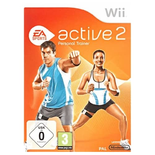 Active 2 Personal Trainer Game Only For Wii With Manual And Case