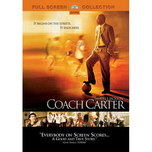 Image 0 of Coach Carter Full Screen Edition On DVD With Samuel L Jackson