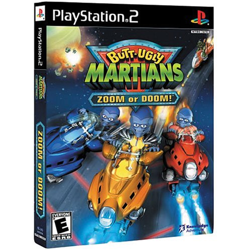 Image 0 of Butt-Ugly Martians: Zoom Or Doom For PlayStation 2 PS2 Racing