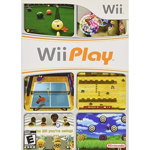 Image 0 of Wii Play Game For The Wii And Wii U Consoles With Manual And Case