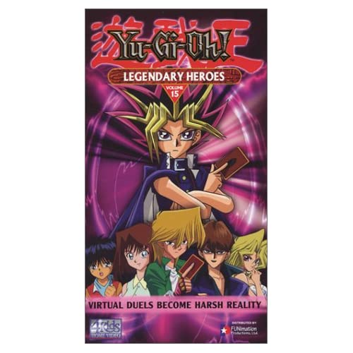 Image 0 of Yu-Gi-Oh 15: Legendary Heroes On VHS With Pablo Sevilla