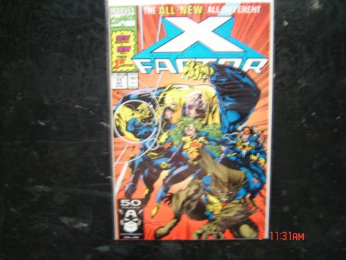 X-Factor No 71 Comic Book
