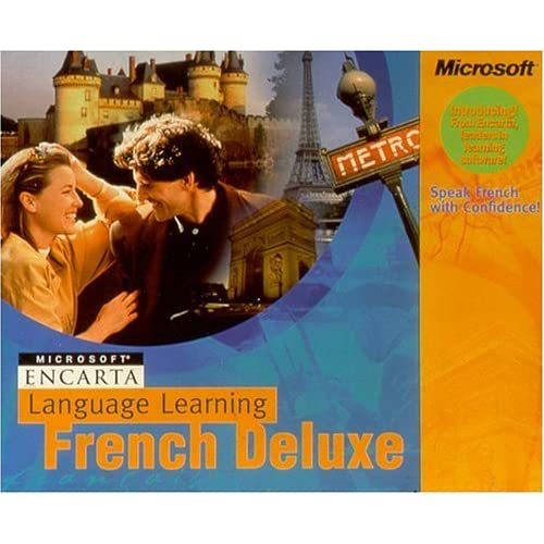 Image 0 of Microsoft Encarta Language Learning: French Deluxe Software