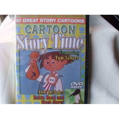 Image 0 of Cartoon Story Time 10 Great Story Cartoons Featuring Tom Sawyer And More! On DVD