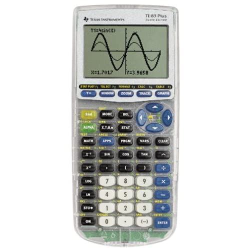 Texas Instruments TI-83-PLUS Silver Edition Calculator Handheld