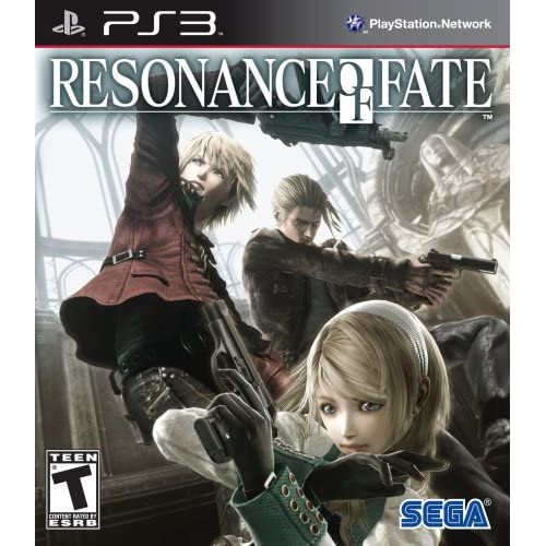 Resonance Of Fate For PlayStation 3 PS3 RPG With Manual and Case