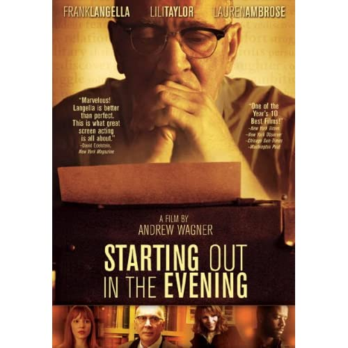 Image 0 of Starting Out In The Evening On DVD With Frank Langella