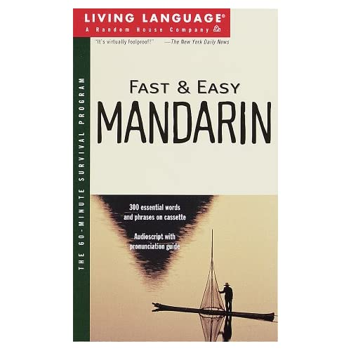 Image 0 of Fast And Easy Mandarin Living Language By Living Language On Audio Cassette