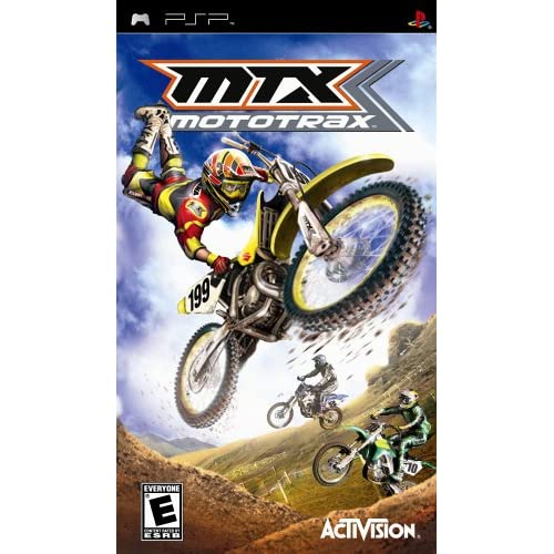 Image 0 of MTX Mototrax Sony For PSP UMD