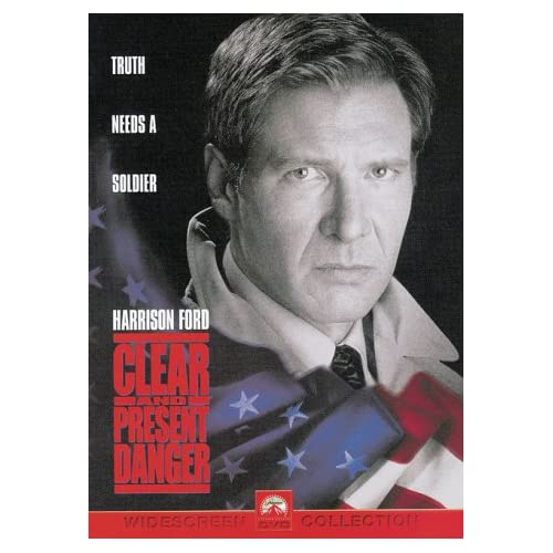 Image 0 of Clear And Present Danger On DVD With Harrison Ford