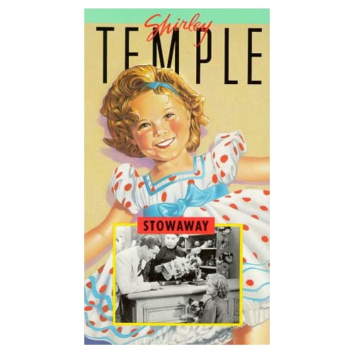 Shirley Temple: Stowaway On VHS