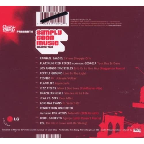Image 2 of Simply Good Music 2 By Simply Good Music On Audio CD Album 2005