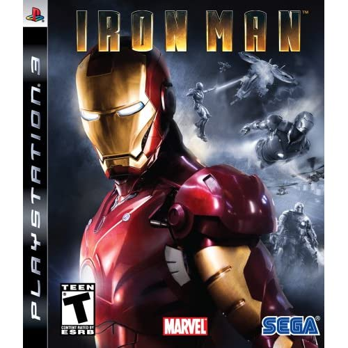 Image 0 of Iron Man For PlayStation 3 PS3 Fighting