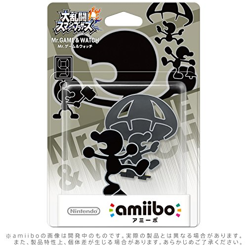 Image 2 of Nintendo Mr Game And Watch Amiibo Super Smash Bros Collection For Wii