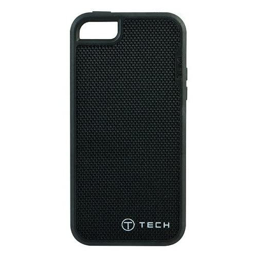 Image 0 of T-Tech By Tumi iPhone 5 5S SE Fitted Case Black Ballistic Nylon Cover