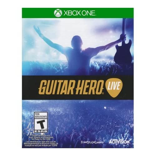 Guitar Hero: Live For Xbox One Game Only Xbox One By Activation