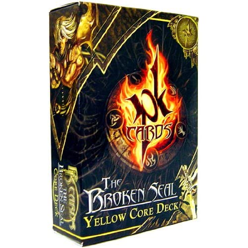 Image 0 of Pk Cards Trading Card Game The Broken Seal Yellow Core Deck TCG Multicolored