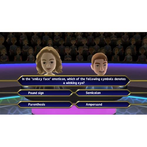 Who Wants To Be A Millionaire For Xbox 360 Trivia