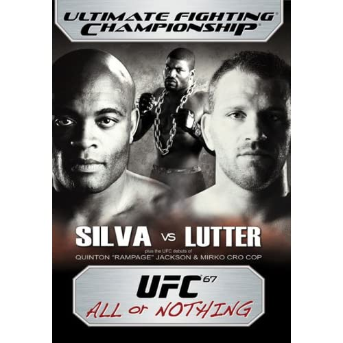 Image 0 of Ultimate Fighting Championship Vol 67 All Or Nothing On DVD With