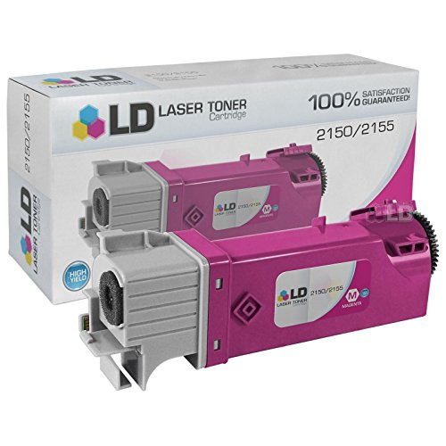 Toner To Replace Dell 2Y3CM / 331-0717 High Yield Magenta Toner