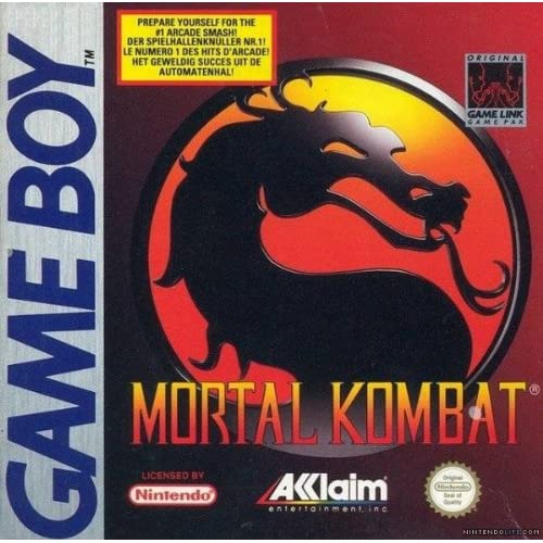 Mortal Kombat On Gameboy Color
