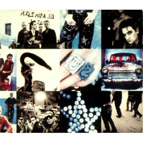 Image 0 of Achtung Baby By U2 On Audio CD Album 1991