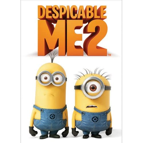 Image 0 of Despicable Me 2 On DVD With Steve Carell