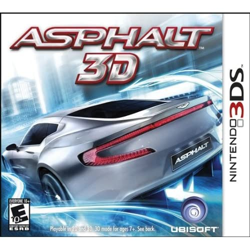 Asphalt 3D For 3DS Flight With Manual and Case