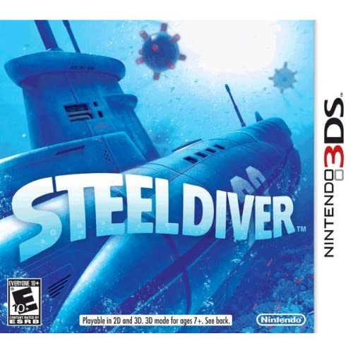 Steel Diver Nintendo For 3DS